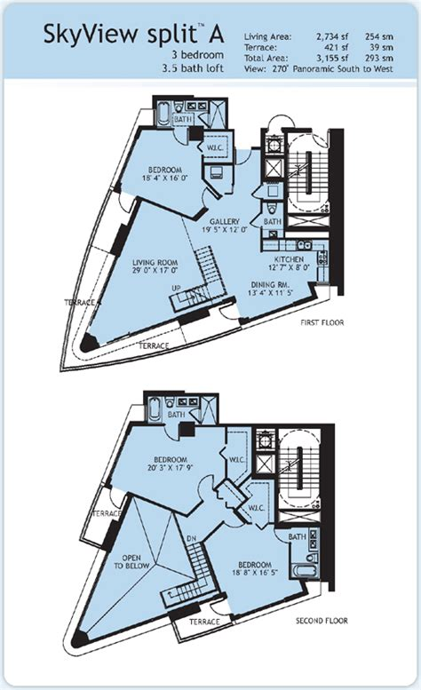 infinity condo floor plans infinity at brickell condo floor plans