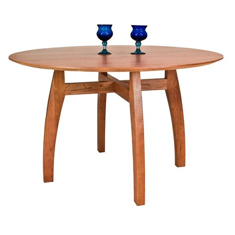 Vermont Dining Table Handmade Vermont Modern Pedestal Table Solid Wood