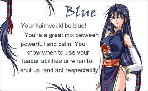 anime hairstyles personality anime hair blue anime fan art 18070937 fanpop