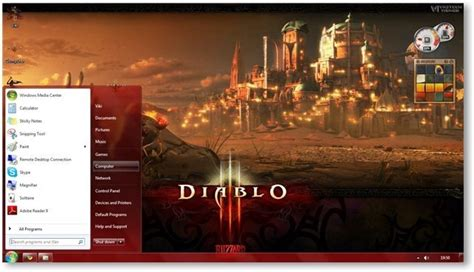 themes games for windows 8 diablo 3 theme for windows 7 and windows 8