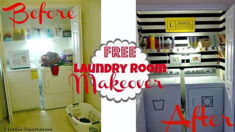 Living Room Ideas On A Budget Pinterest Small Laundry Closet Makeover 2 Little Supeheroes2