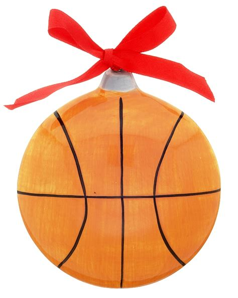 basketball christmas ornament basketball