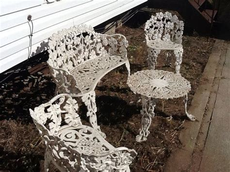 antique cast iron outdoor furniture antique cast iron garden furniture