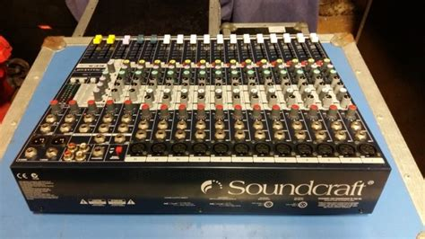Mixer Soundcraft Efx 12 soundcraft efx12 mixing desk and flightcase for sale in