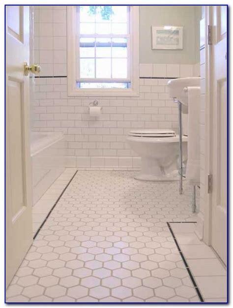 Large Hexagon Floor Tile Tiles Home Design Ideas Hexagon Bathroom Floor Tile