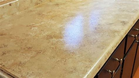 Easy Granite Countertops easy faux granite counter top hometalk