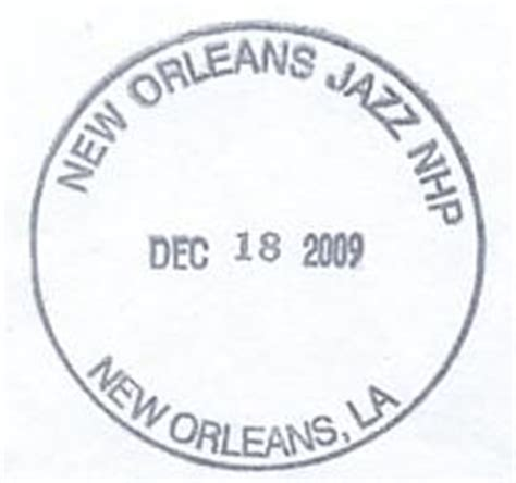New Orleans Passport Office by Louisiana S National Parks Passport Cancellation Sts