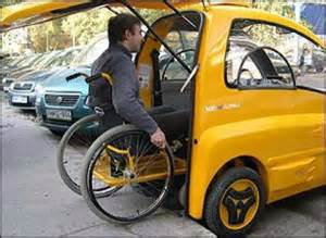 Electric Car Designed For Wheelchairs Rehab Electric Car Designed By A Hungarian Company For