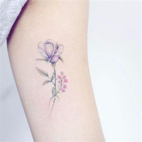 delicate flower tattoos best 25 delicate flower ideas on
