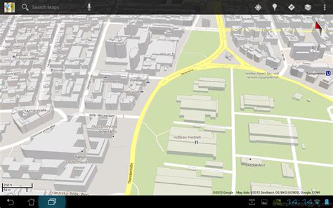 design google maps api opengl es 2 shaders for drawing buildings and roads like