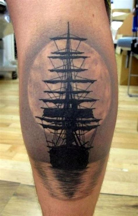 sail boat tattoo 40 and meaningful boat designs bored