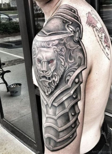 55 appealing armor tattoos on arm