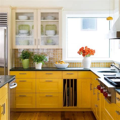 yellow kitchen color schemes colorful yellow kitchen color inspiration redo kitchen