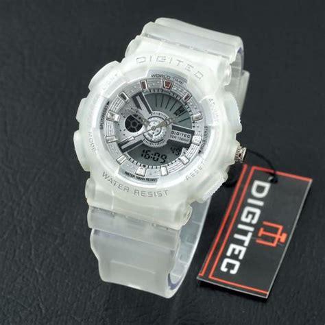Jam Tangan Digitec Original Wanita Tali Kulit Digitec 3052 White jual jam tangan digitec dg 2063t wanita original harga murah
