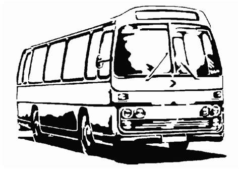 Coloriage Bus En Ligne