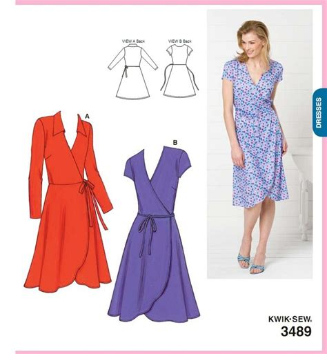 sewing pattern wrap 423 best apparel wrap dresses images on pinterest wrap