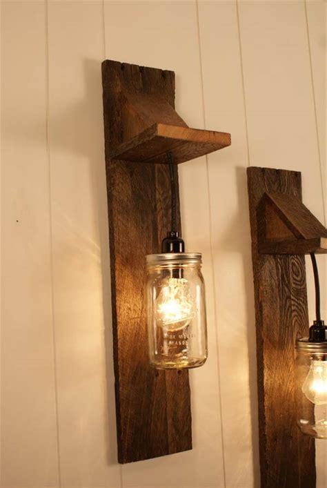 diy wall light fixtures diy pallet jar chandelier light fixture 101 pallets