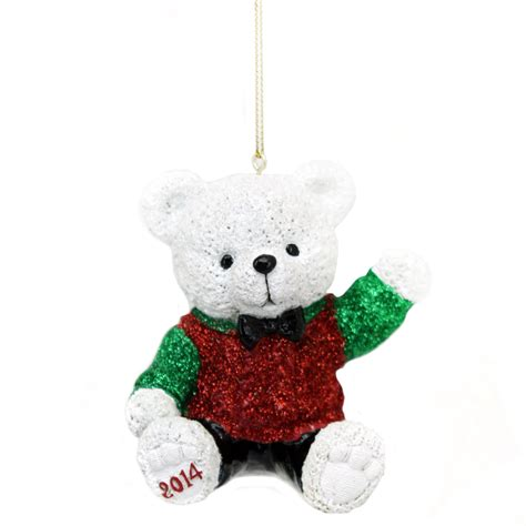 st jude 2014 holiday bear ornament 3 5 in seasonal