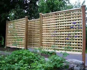 Design For Lattice Fence Ideas Pin By Foo Bar On Garden Ideas