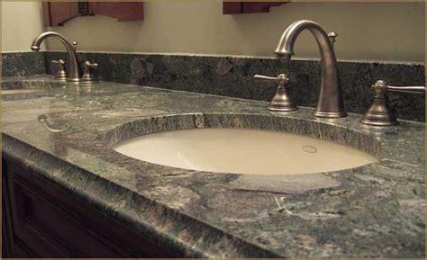 granite countertop sink options bathroom countertops options idea