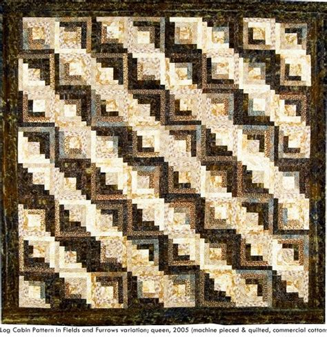 traditional log cabin quilt pattern quilting
