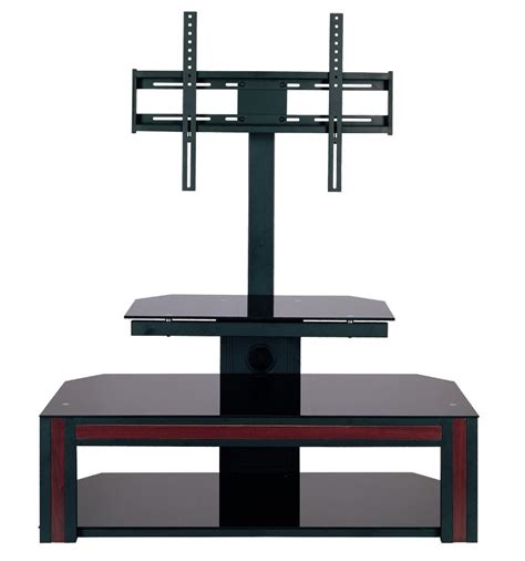 Tv Table Mount by Home Source Tv Stand W Mount And Wood Accent By Oj