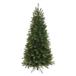 festive 210cm flock slim tree green achica