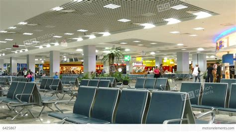 Waiting Intl waiting lounge in international airport of hurghad 動画素材