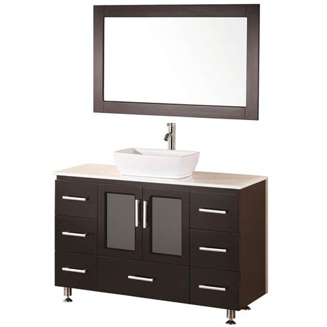 home depot design element vanity design element stanton 48 in w x 20 in d vanity in