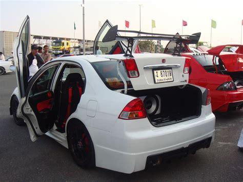 modified cars modified honda civics sports modified cars