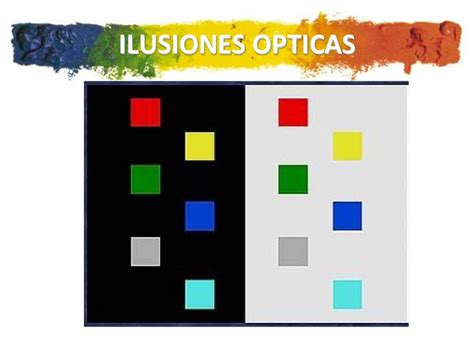 ilusiones opticas powerpoint teoria del color