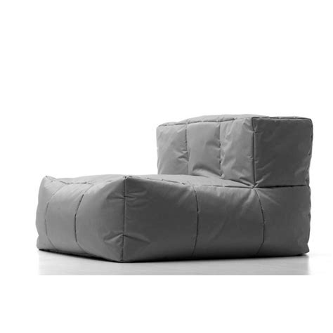 outdoor bean bag sofa kalahari mix and match bean bag sofa middle piece buy