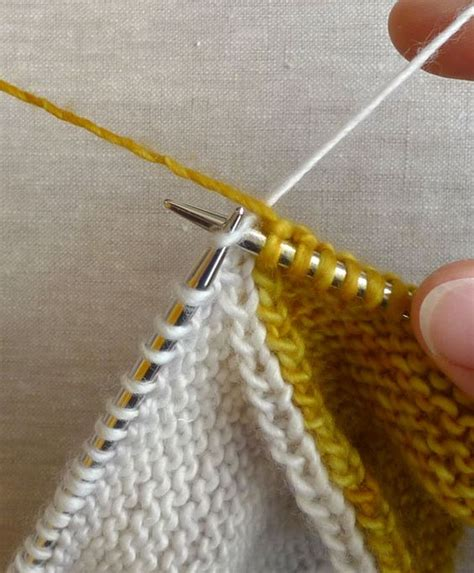 knitting intarsia tutorial intarsia tutorial knitting purl bee baby