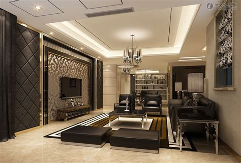 Living Room Ideas With Tv On Wall - modern wall decor for living room glamorous living room