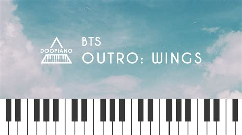 download mp3 bts outro wings 방탄소년단 bts outro wings piano cover youtube