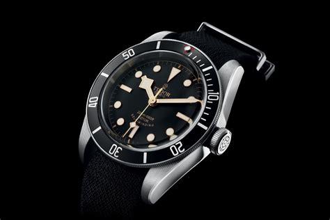 tudor dive watches tudor black bay black bezel triangle 79220n