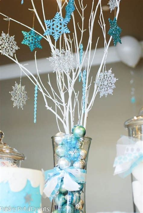 centro de mesa fiesta frozen pinterest frozen party