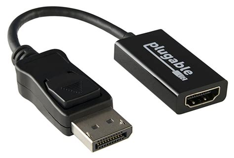 Av Activist Definition Mod Only plugable active displayport to hdmi 2 0 adapter supports displays up to 4k ebay
