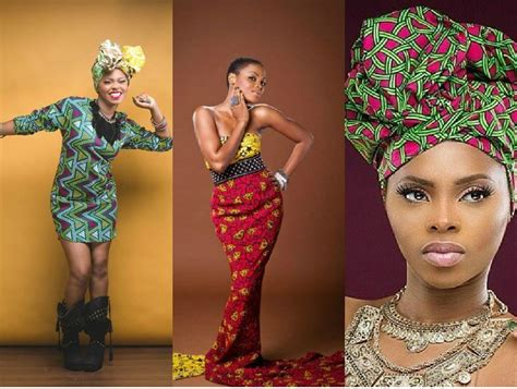 pictures of all nigerian celebrities new styles of ponytail hair photos 7 simple but classy ankara styles by chidinma