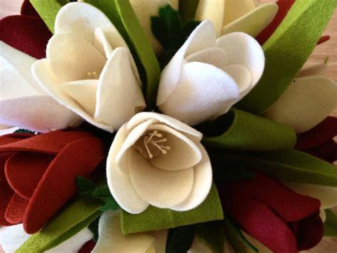 kerajinan tangan  kain flanel  unik bunga tulip