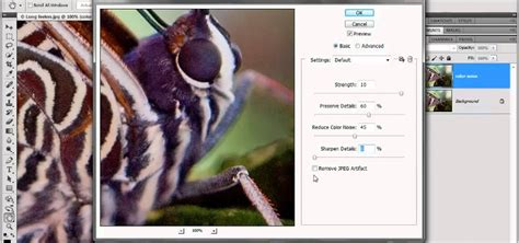photoshop cs5 noise reduction tutorial how to reduce color noise with filters in adobe photoshop