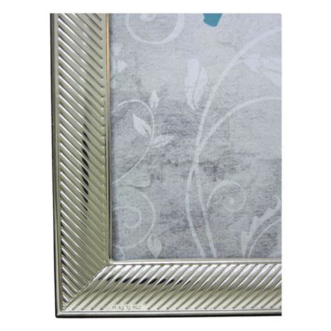 cornici portafoto argento cornice portafoto lucida millerighe in argento