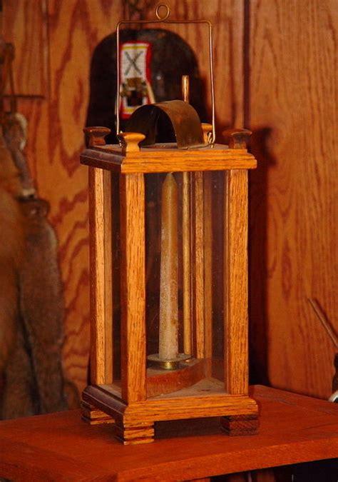 oak candle lantern oak ratchet candle stand