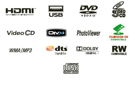 dvd format logo licensing corporation dv 220v k ultra compact multi format dvd player