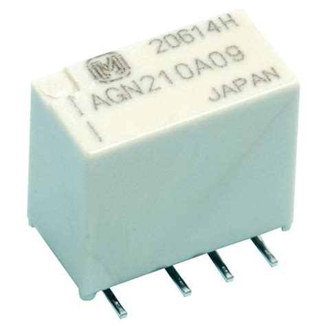smd 1a relays dpco slim profile agn series rapid