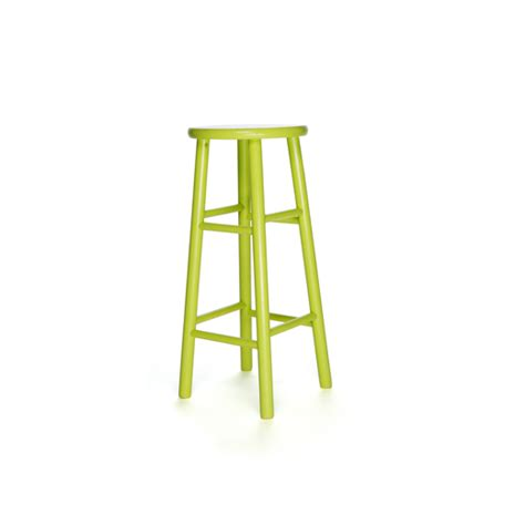 Lime Green Bar Stool Specialty Archive B Seated