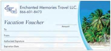 Give the gift of travel our vacation vouchers are the perfect gift