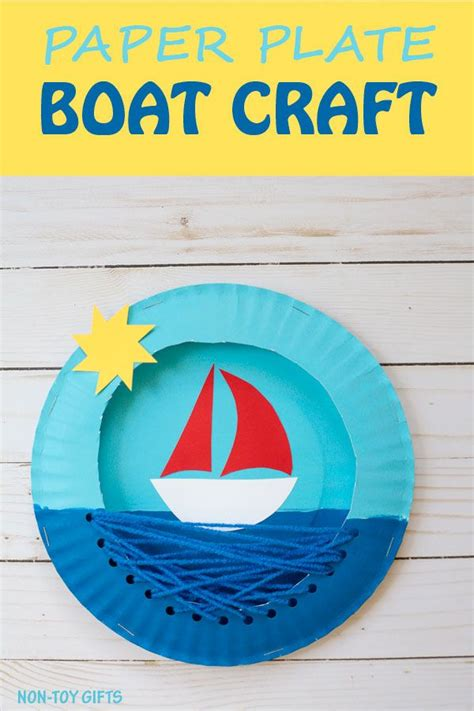 Paper Boat Craft For Preschoolers - best 25 boat craft ideas on