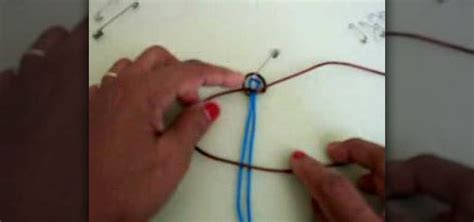 Macrame Flat Knot - how to macrame a flat knot 171 jewelry