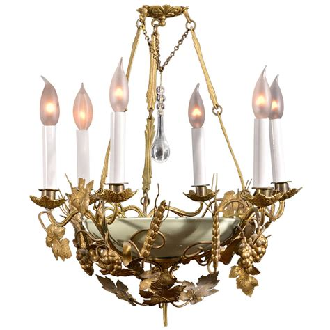 Whimsical Chandeliers Whimsical Six Light Chandelier At 1stdibs